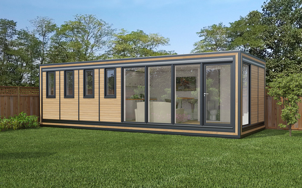 ZEDBOX 830 (8 x 3) Internal Size: 8543 x 3188 External Size: 9013 x 3658 Bed Options: Single or Double Kitchen Options: Micro Kitchen or Kitchen Wet Room Options: Yes Portico: Yes Price: £36,000 Optional Extras Request Zedbox Catalogue