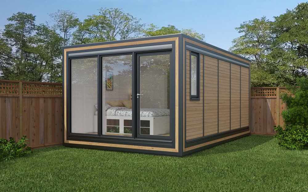 ZEDBOX 350  (3 x 5)  Internal Size: 3188 x 5330  External Size: 3658 x 5800  Bed Options: Single or Double  Kitchen Options: Micro Kitchen or Kitchen  Wet Room Options: Yes  Portico: No  Price:  £29,000    Optional Extras    Request Zedbox Catalogue