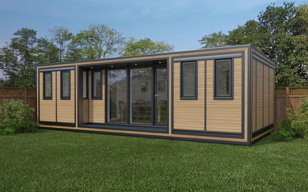 ZEDBOX 835  (8 x 3.5)  Internal Size: 8543 x 3791  External Size: 9013 x 4261  Bed Options: Single or Double or Two Doubles.  Kitchen Options: Micro Kitchen or Kitchen  Wet Room Options: Yes  Portico: Yes  Price:  £45,000    Optional Extras    Request Zedbox Catalogue