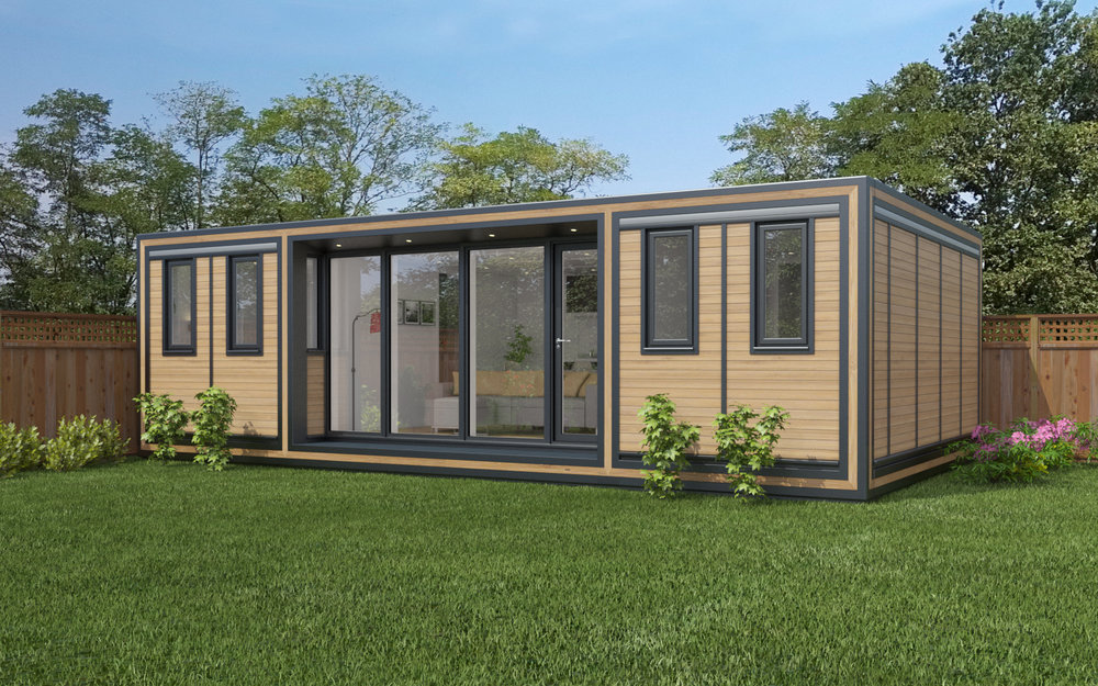 ZEDBOX 845  (8 x 4.5)  Internal Size: 8543 x 4817  External Size: 9013 x 5287  Bed Options: Single or Double or Two Doubles  Kitchen Options: Micro Kitchen or Kitchen  Wet Room Options: Yes  Portico: Yes  Price:  £51,000    Optional Extras    Request Zedbox Catalogue