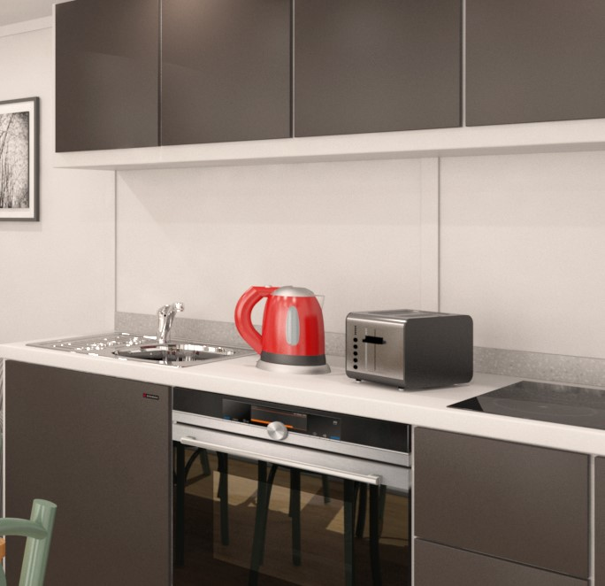 Zedbox Premier Kitchen Graphite