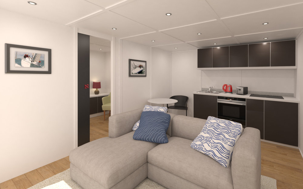 COMFORTABLE ANNEXES (14)   Choose from fourteen different Zedbox sizes that we recommend as comfortable annexes. From just £29,000  Click here...