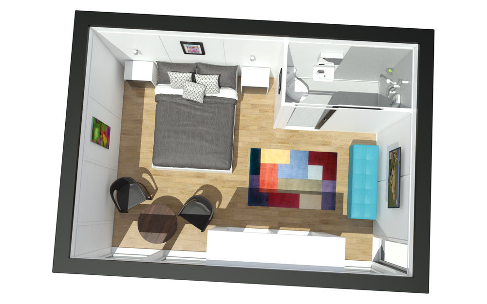 Zedbox 535 - plan view