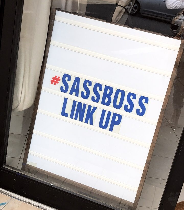 The Sassboxx #SassbossLinkUp