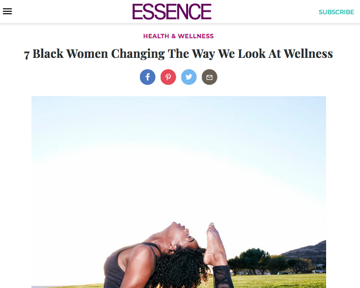 Essence - As the founder of Spiked Spin, Briana Owens was called to create a fitness experience specifically aimed at catering to women and people of color. Recently, Owens even launched a free 8-week fitness challenge via her Spiked Spin platform encouraging those to get fit, by any means necessary.