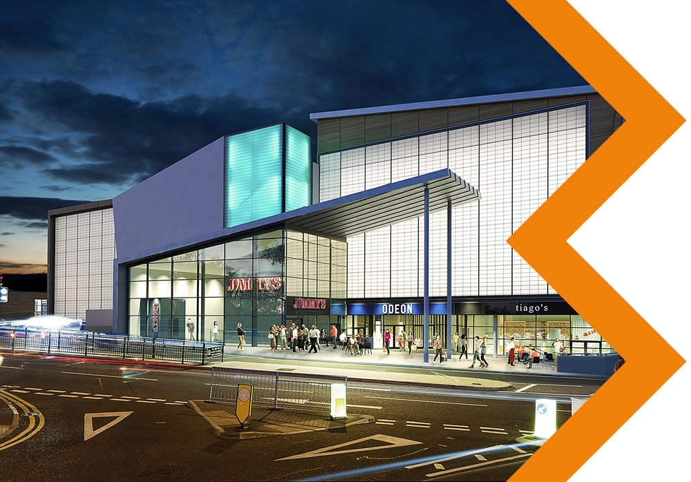 BH2 BOURNEMOUTH - Ten screen cinema and leisure complex with basement car parkClient: VinciTonnage: 915 tonnesSector: LeisureProject Value: £2,030,000