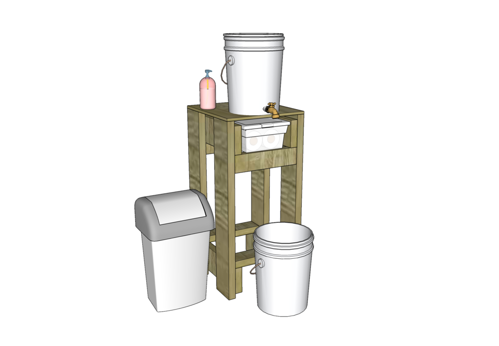 Hand Stand - The Hand Stand is a great no-water-connection-needed hand washing station to disperse throughout a farm to keep hands washed and food safe.