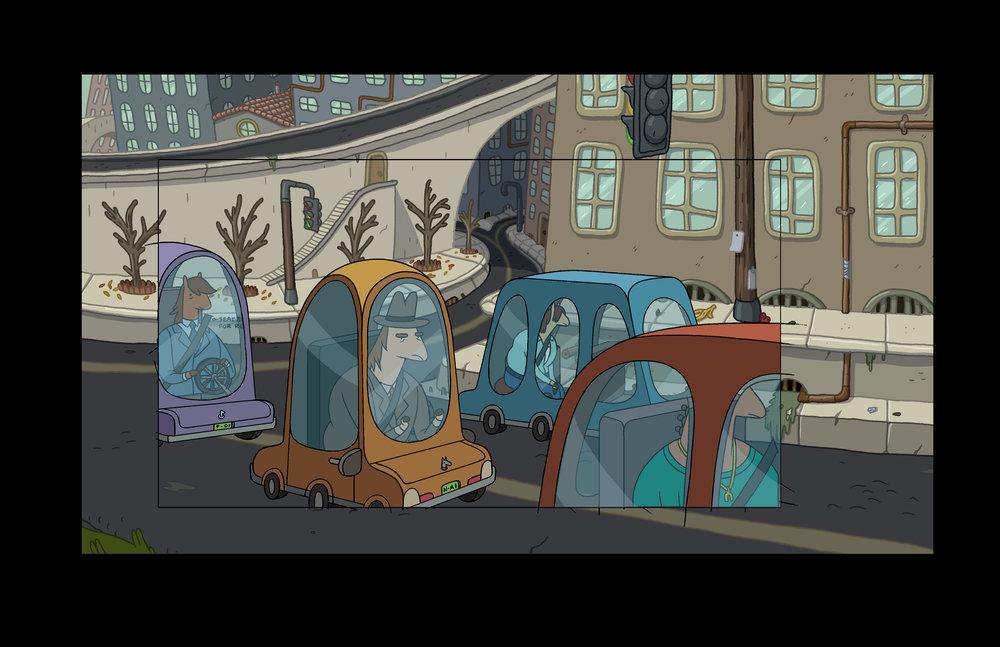 Horse Cars, Horse City