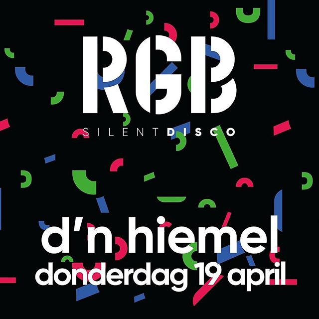 Tonight @rgbsilentdisco in Maastricht! #maastricht #silentdisco #r&b #guiltypleasure #rock