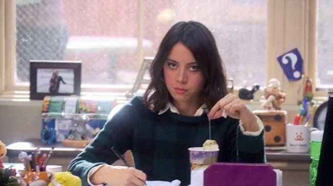 Aubrey Plaza as April Ludgate