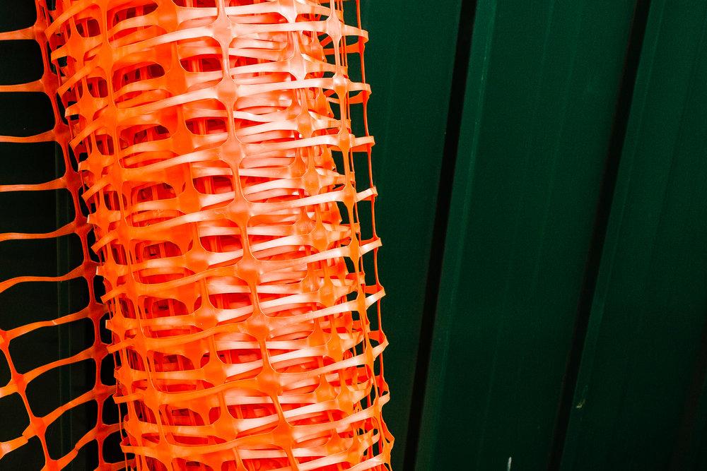 orange mesh III