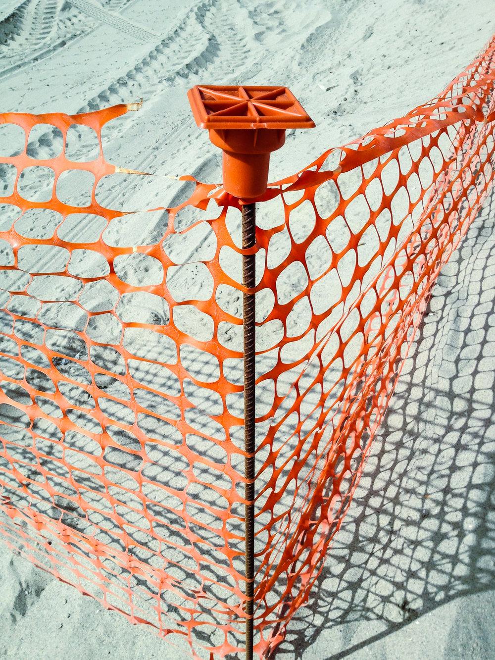 orange mesh V