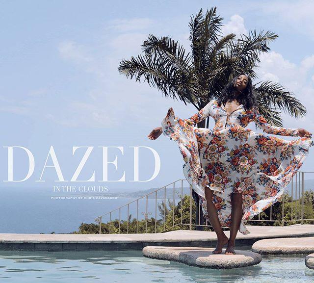 DAZED💫 . . 📸@thechriscavanaugh 👗@mia.hammett 💄@travisbdouglas 🙎🏾♀️@cicimoss . .  #StyledByMi #EsheBoutique #editorial #highfashion #fashioneditorial #melanin
