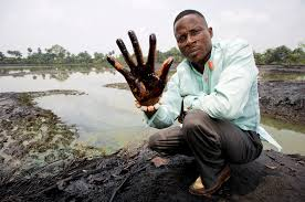 Oil pollution in Ogoniland, Niger Delta. Photo: Milieudefensie via Flickr (CC BY-NC-SA)