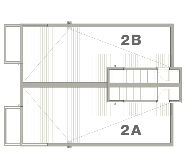 Townhouse 2A & 2B—Rooftop