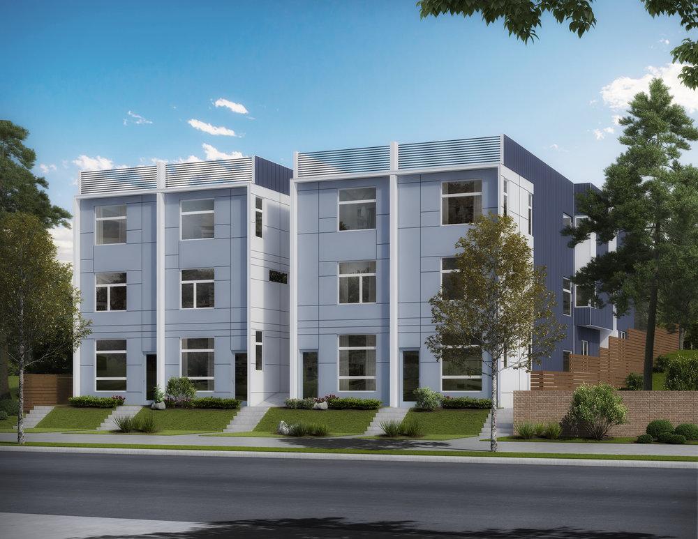 Franklin Crossing — Eastlake - Urban Eastlake living with modern sophistication.