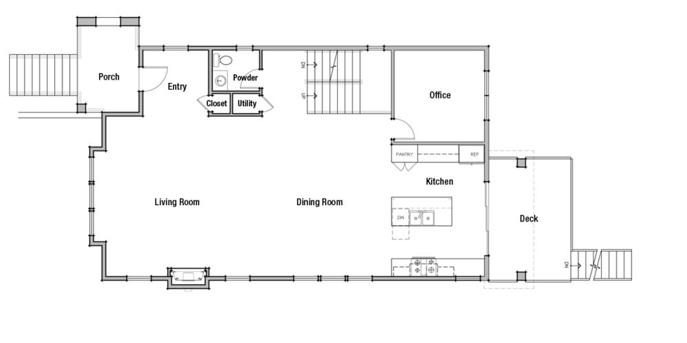 Lot 1: Main Floor