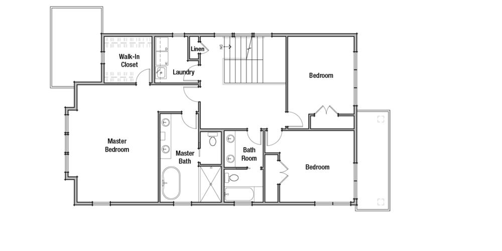 Lot 1: Upper Floor