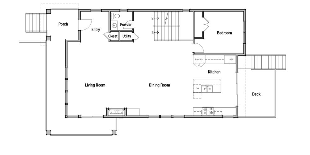 Lot 2: Main Floor