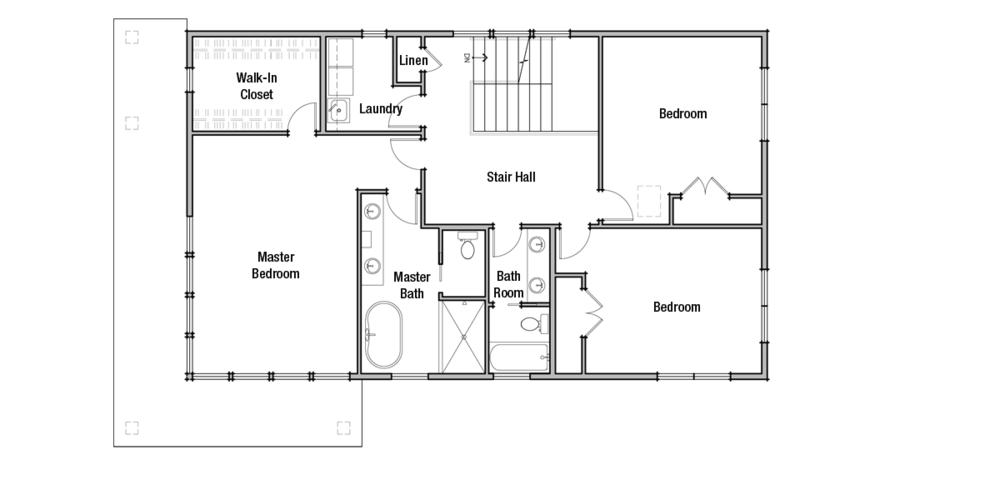 Lot 2: Upper Floor