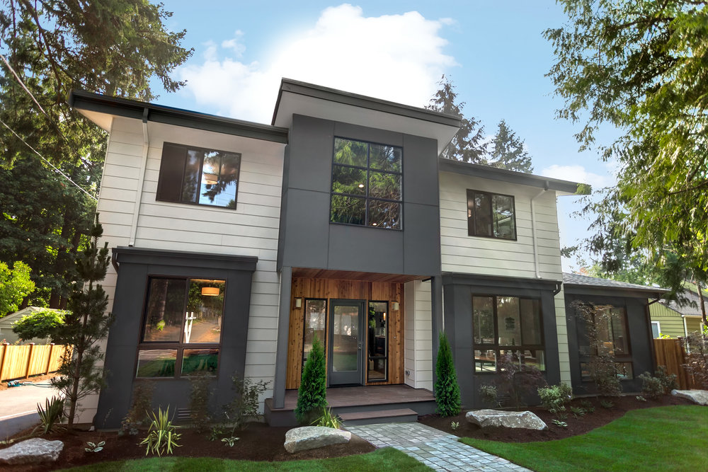 SOLD! Victory II—Northeast Seattle - Modern homes amidst the natural beauty of the Victory Heights neighborhood.