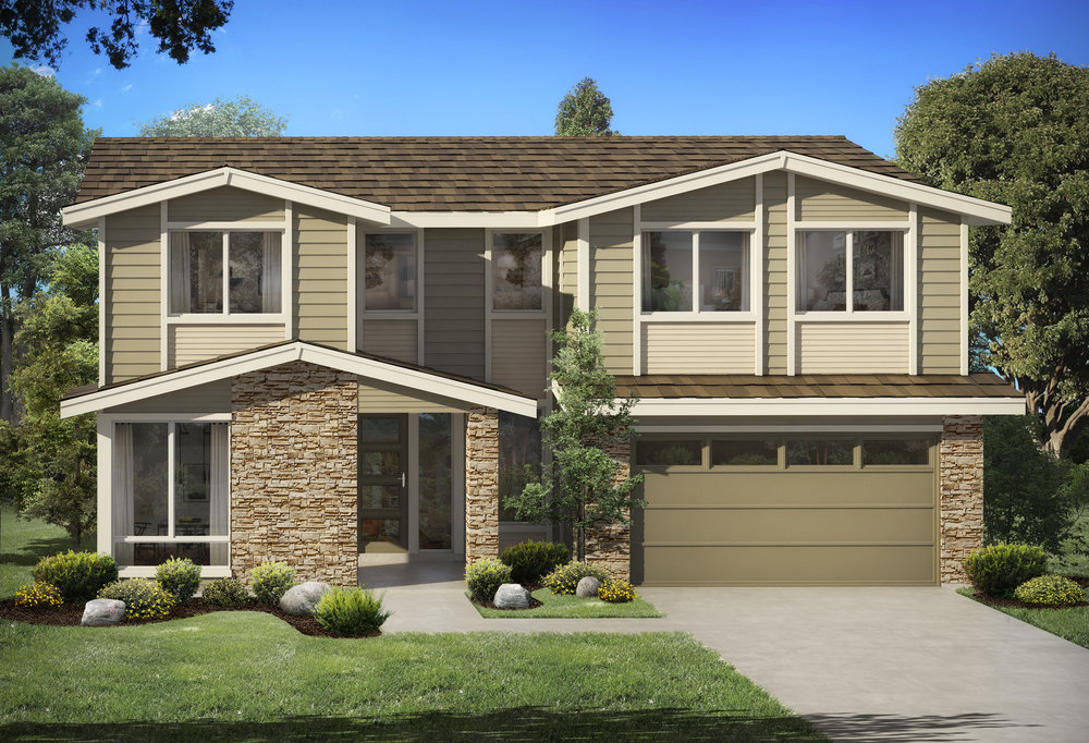 Final Home! Lot 16: $905,000 - Magnolia Plan: 4 Bedroom / 2.75 Bath / 3,146 sf» 2-Car Garage (plus extra space)» Main Floor Mudroom (off the garage)» Master Suite (with 5-piece spa bath)» Main Floor Den/Guest Suite» Upper Floor Bonus Room» Upper Floor Laundry» Covered Outdoor Living Space (with fireplace)