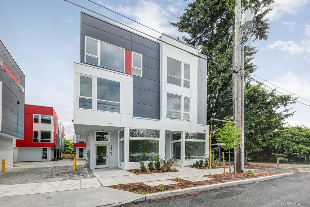 SOLD! 14th Avenue Townhomes—Ballard - Work and live in Ballard's Crown Hill neighborhood.