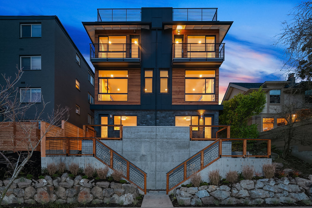 The Edge — Eastlake - Innovative modern architecture with view of Lake Union