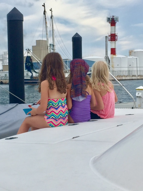 Eden made fast friends with two little girls from Minnesota.  They leave soon, and it will a hard good-bye for our girl.