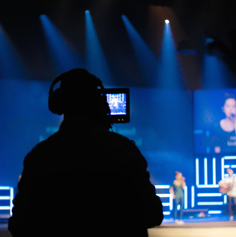 PRODUCTION - The production team uses creativity and technology to create an atmosphere in which our church family is able to whole-heartedly participate in worship. Whether you have experience in audio, lighting, video production, or simply just have an interest, we would love to have you!