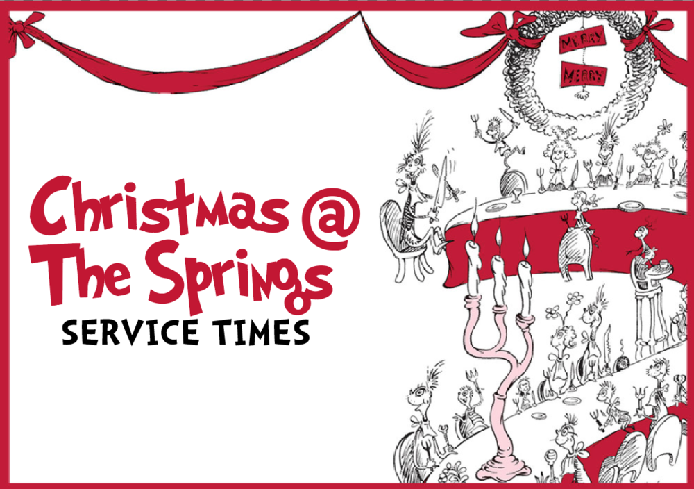 Christmas Service Times - This year's Christmas experience will feature fantastic music, memorable moments throughout, and an inspiring message from our Lead Pastor, Ron Sylvia. Make plans to join us! Your family, and friends will have plenty of opportunities to choose from. We hope to see you here!