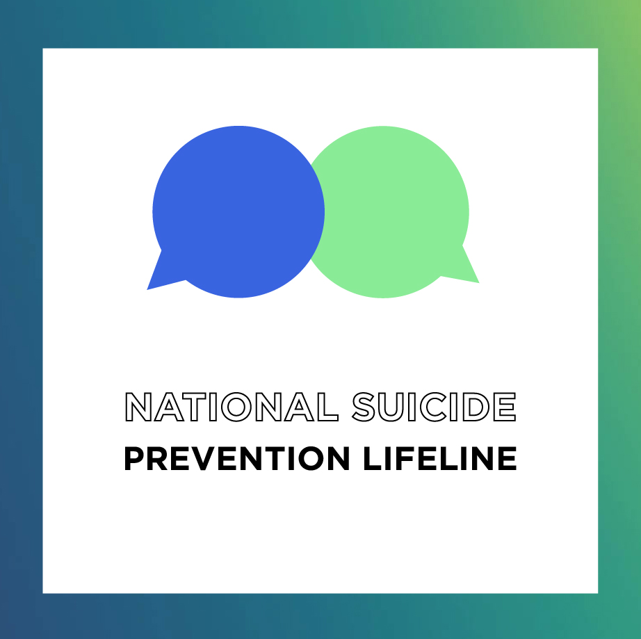 National Suicide Prevention Lifeline - We can all help prevent suicide. The Lifeline provides 24/7, free and confidential support for people in distress, prevention and crisis resources for you or your loved ones, and best practices for professionals.