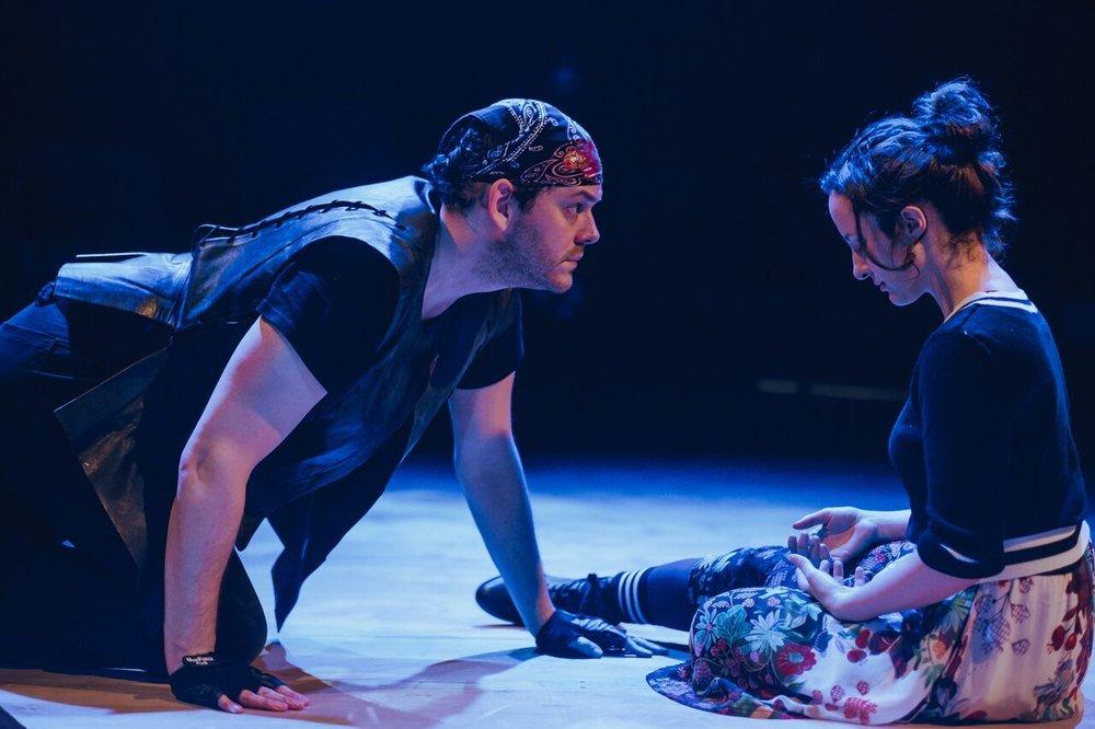 Roxane in  Cyrano
