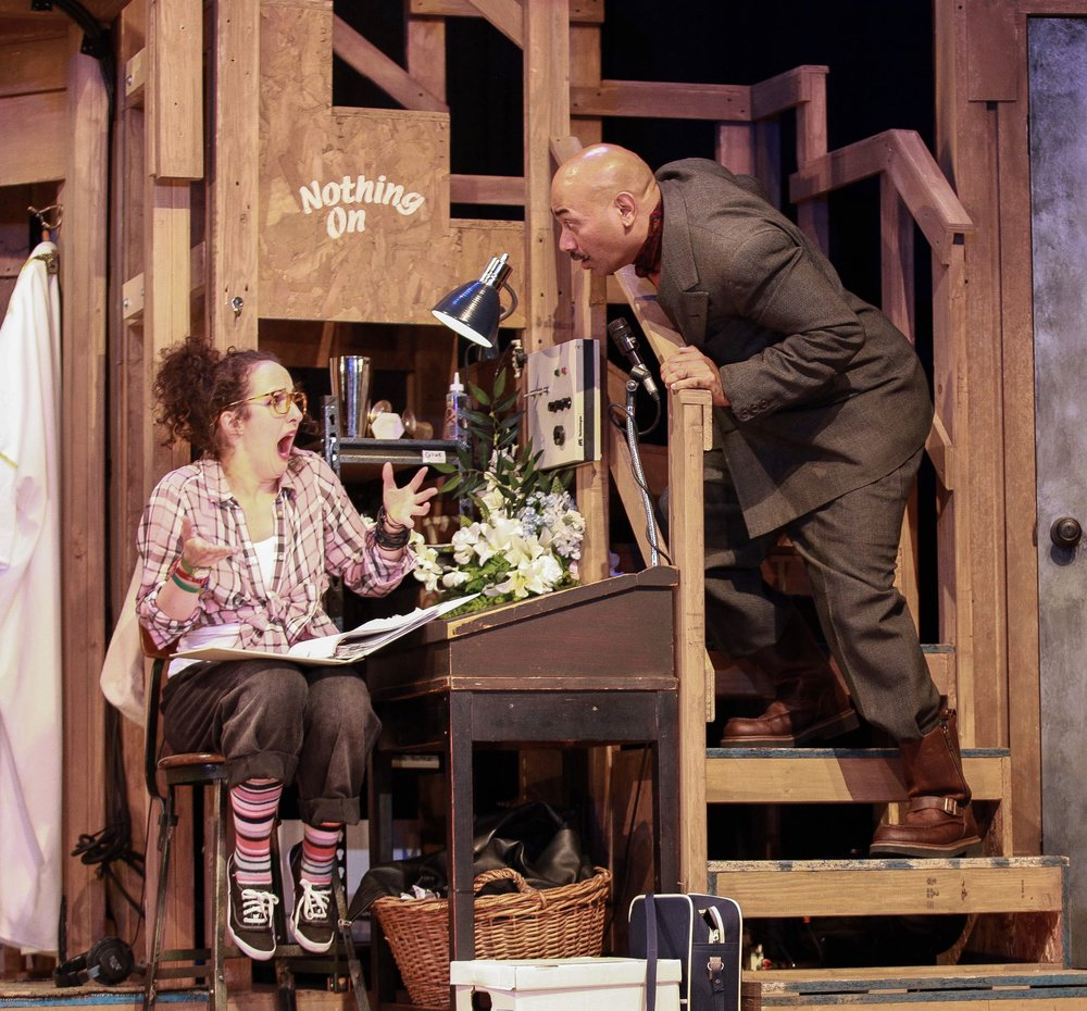 Poppy in NOISES OFF