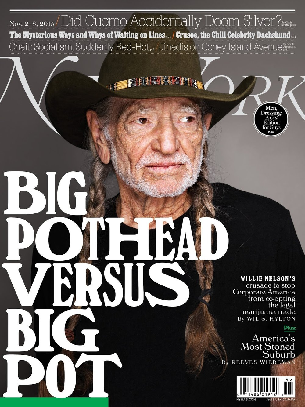 NY Magazine: Big Pothead Versus Big Pot
