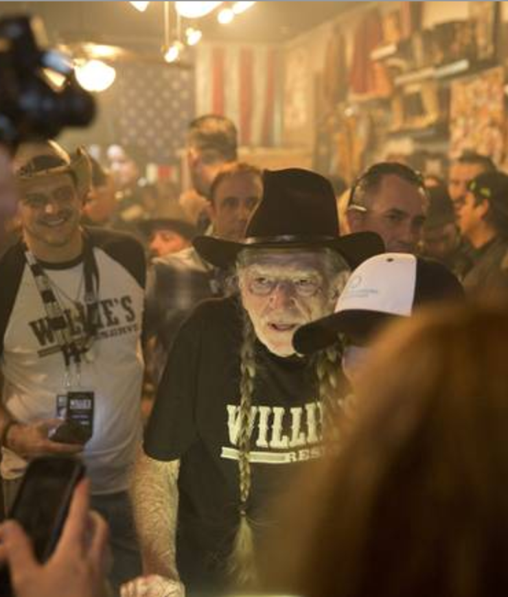 Las Vegas Welcomes Willie's Reserve