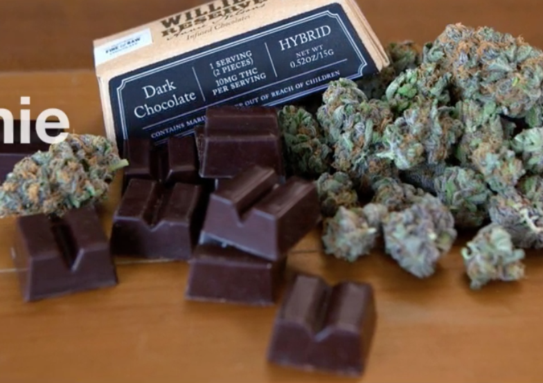 Annie Nelson introduces chocolates infused with 'Willie's Reserve' marijuana