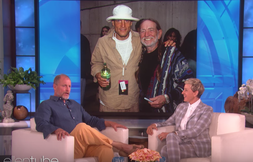 Willie Nelson Broke Woody Harrelson's Pot Sober Streak