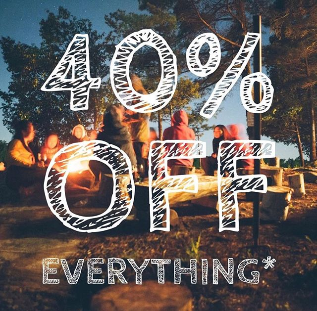Proud to support @bigadventureoutfitters as our exclusive provider of outdoor apparel and gear. This month they're doing an INSANE sale of 40 percent off everything. You read that right. Check out their #Thomasville storefront or online at bigadventures.us! . . . #adventure #adventuretravel #adventuretime #adventuring #intothewild #beyondlimits #hiking #faceyourfears #timetolive #explore #shoplocal