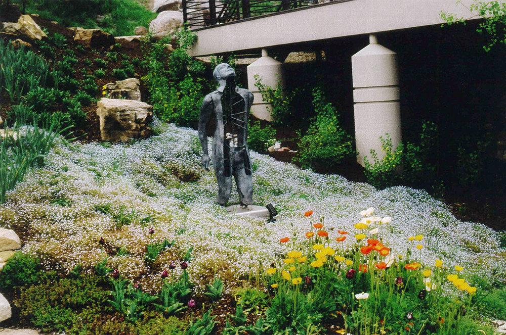 Garden Sculpture Placement