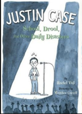 Justin Case: School, Drool, and Other Daily Disasters  2011 Read Kiddo Read Editors Choice Award  2010 Kirkus Review - Children -- Starred Review (*)  2011 Capitol Choices: Noteworthy Books for Children and Teens -- Seven to Ten (Recommended)  2012 Volunteer State Book Award -- Intermediate (Runner-Up)  2013 Kentucky Bluegrass Award -- Grades 3-5 (Nominee)  Junior Library Guild Selection  2017 Bluestem Volunteer Award Master List  South Carolina Children's Book Award Master List  Tennessee Intermediate Volunteer State Book Award Master List,  2011 Bank Street Best Children's Book of the Year