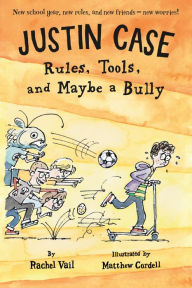 Justin Case: Rules, Tools, and Maybe a Bully Junior Library Guild Selection  Capitol Choices Noteworthy Titles for Children and Teens  South Carolina Children's Book Award Master List  Tennessee Intermediate Volunteer State Book Award Master List  Bank Street Best Children's Book of the Year  South Carolina Children's Book Award ML  Kentucky Blue Grass Award Master List