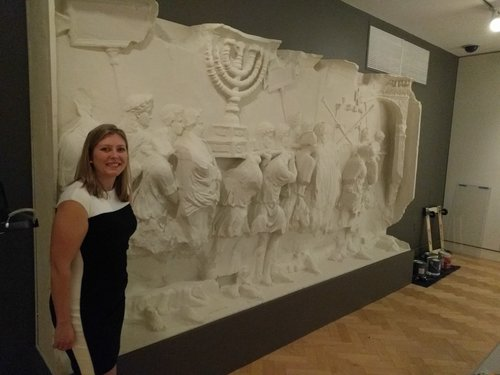 12ft by 8ft tall by 1.5ft deep replica of the Arch of Titus