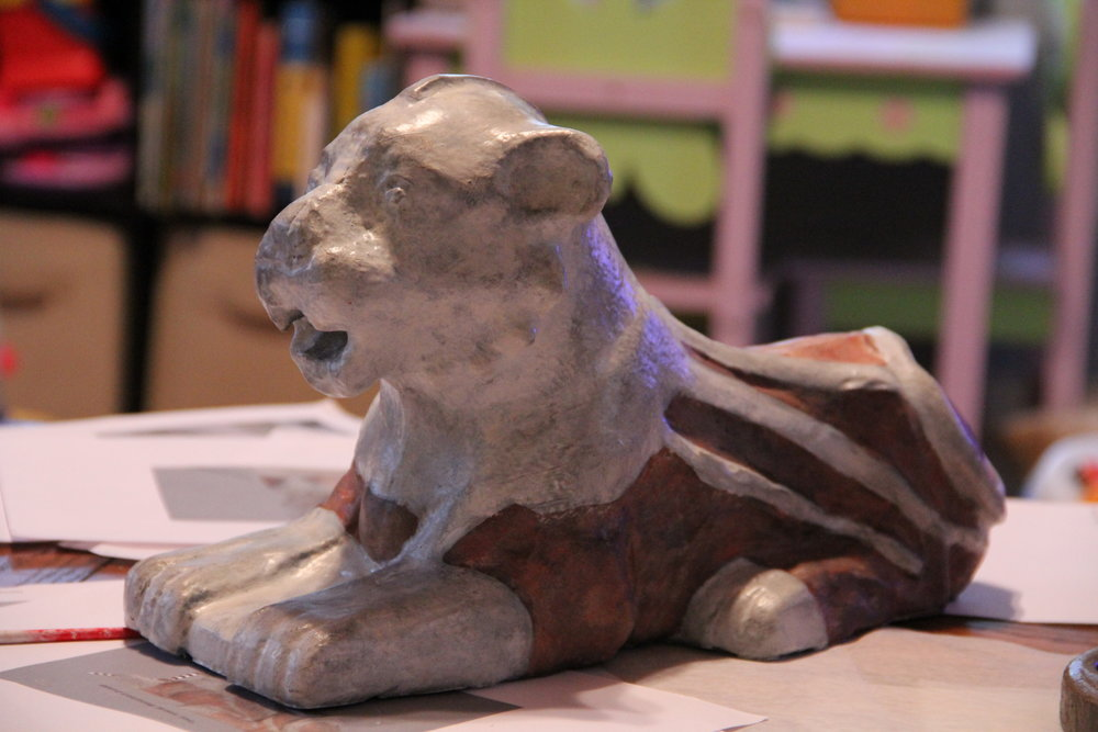 Replica of Nuzi Lion