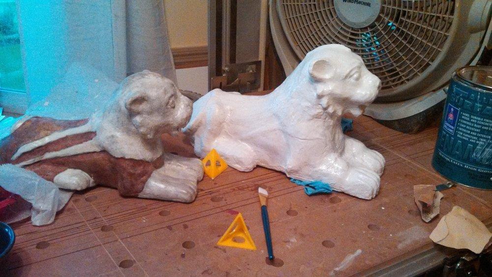 Replica Nuzi Lion