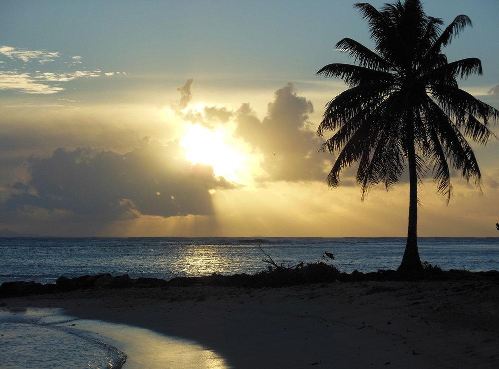 © Te Mana Travels — Tahitian Sunset