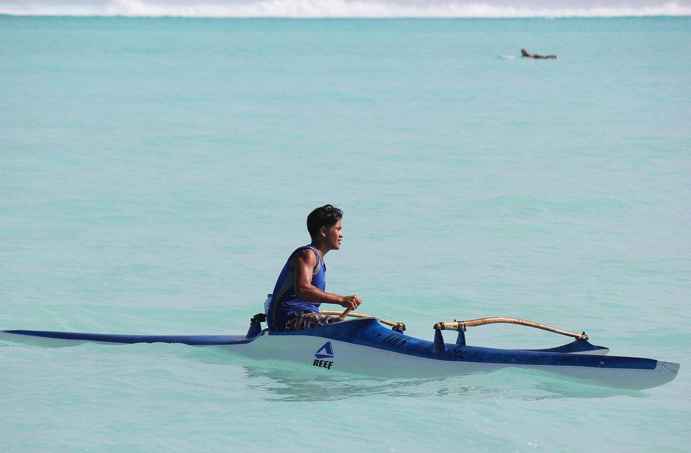 © Te Mana Travels — Kayaking in lagoon