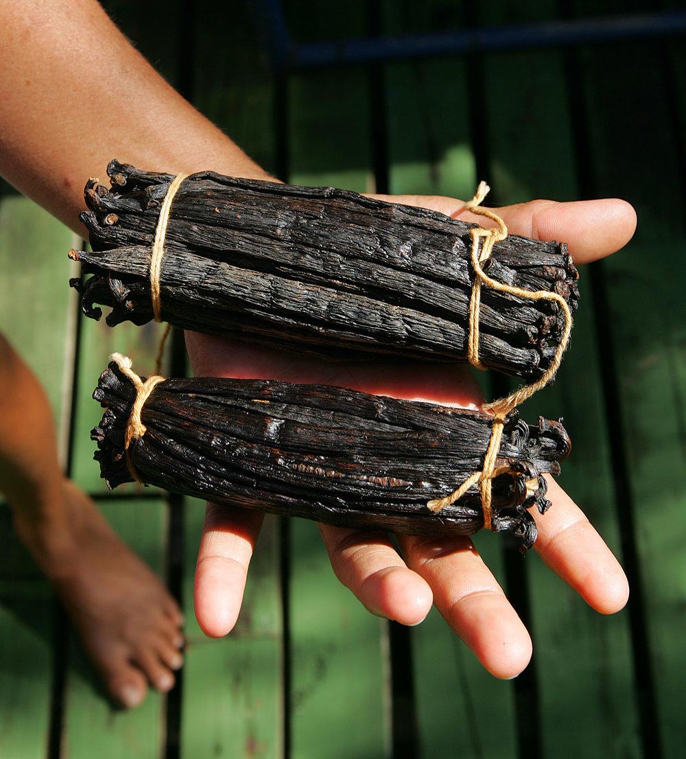 © Te Mana Travels — Vanilla beans