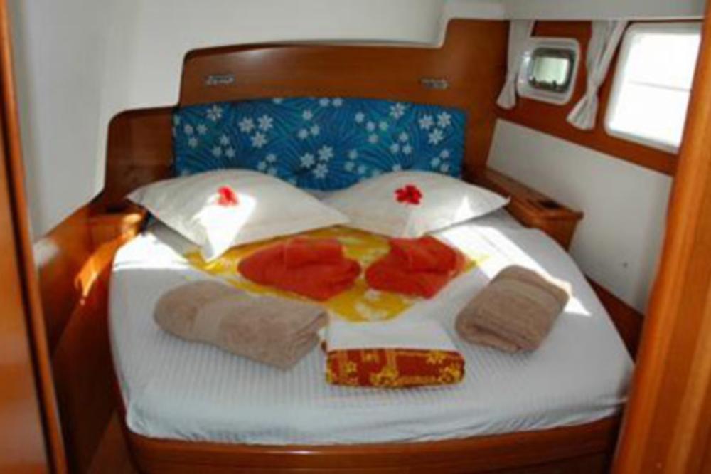© Te Mana Travels — Catamaran bedroom 1