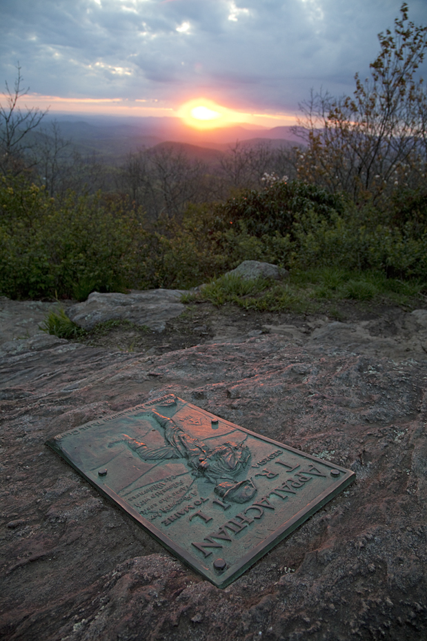 """Appalachian Trail, Sam's Gap""- Ron Roman"